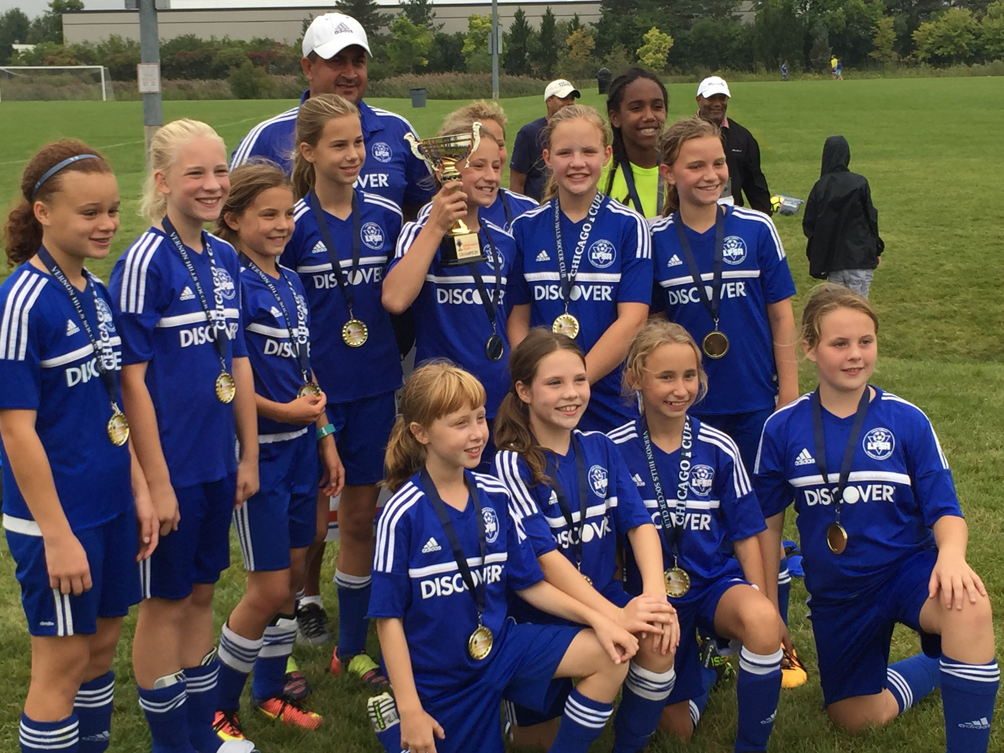 GU12 Select wins Chicago Cup over Labor Day weekend!