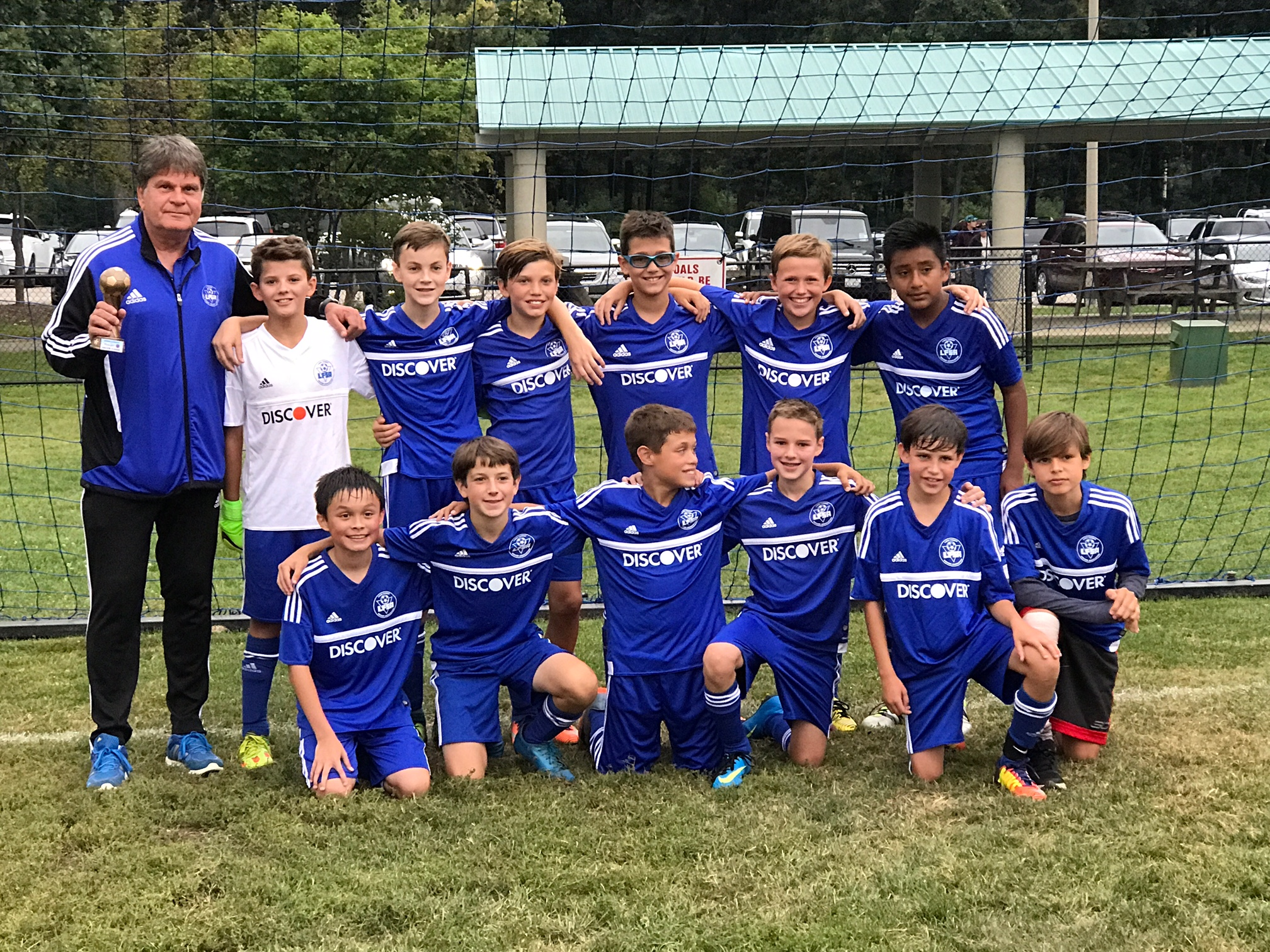 BU13 Select 1 Finalists at Chicago Cup