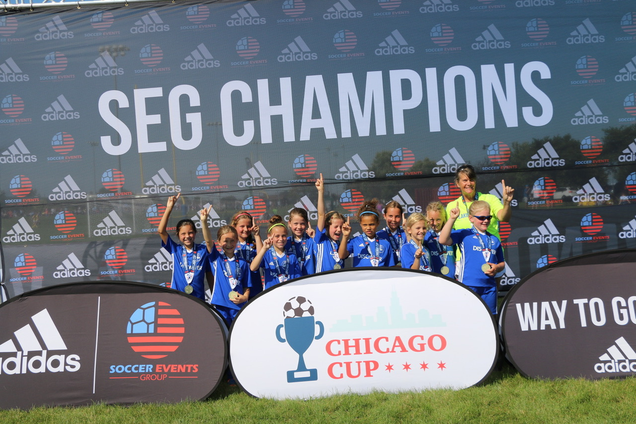 GU10 Champions at the Chicago Cup Tournament