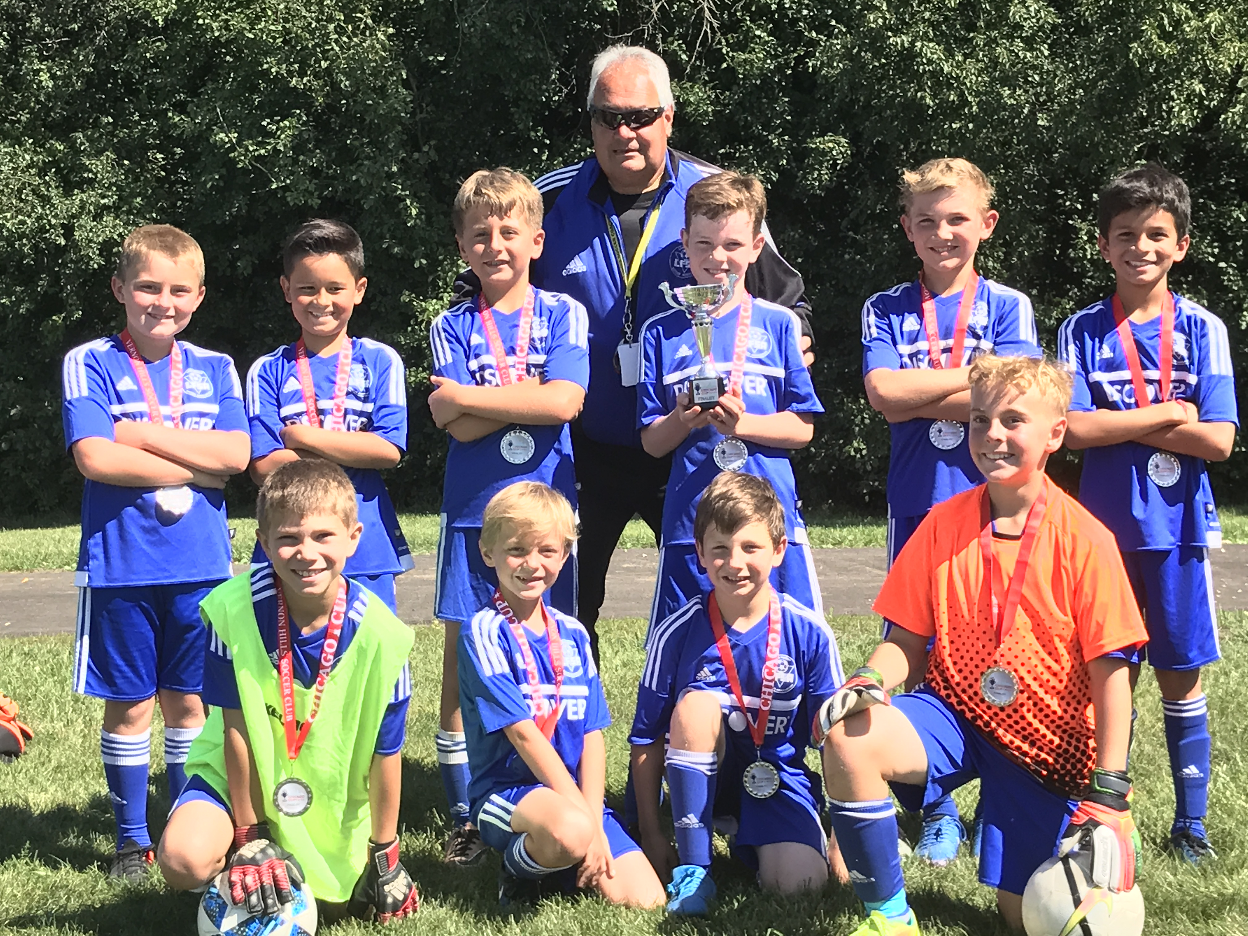 BU10 Chelsea are finalists at the Chicago Cup over Labor Day